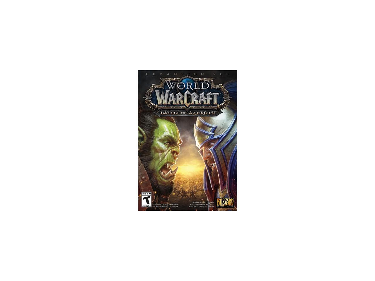 World of Warcraft: Battle For Azeroth PC $39.99 newegg