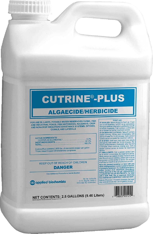Cutrine-Plus Aquatic Algaecide 2.5 gal Amazon $76.85 AC Amazon Prime
