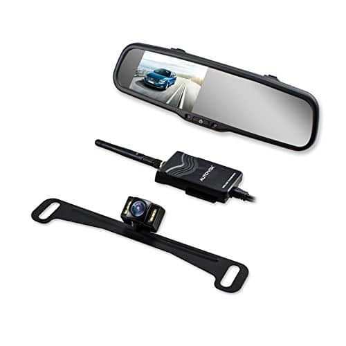 Wireless Backup Camera Kit with HD Rearview Mirror Monitor for $97.99 @Amazon