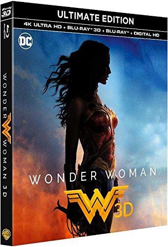 Wonder Woman Ultimate Edition 4K + 3D + 2D Blu-ray $23.02