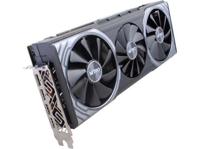 Sapphire Nitro+ Radeon RX Vega 64 8GB Graphics Card + 3 AMD Games