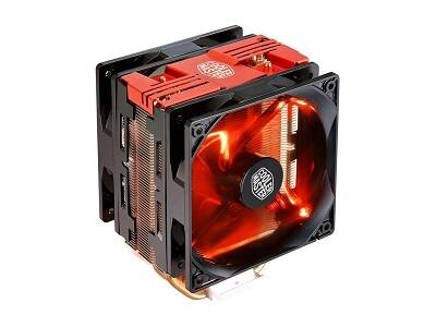 Cooler Master Hyper 212 LED Turbo Red Top $35.74