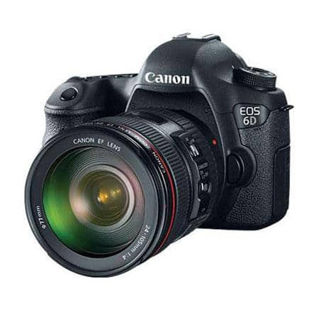 Canon 6D DSLR Camera with EF 24-105mm f/4L IS USM Lens, Pro-100 Printer and 50-Sheets Paper