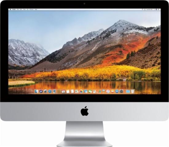 "Apple 21.5"" iMac 2017 Model with 4k Display Quad Core AMD Radeon Pro 555 graphics"