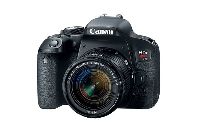 Canon EOS Rebel T7i EF-S 18-55 IS STM Kit Refurbished $558.99