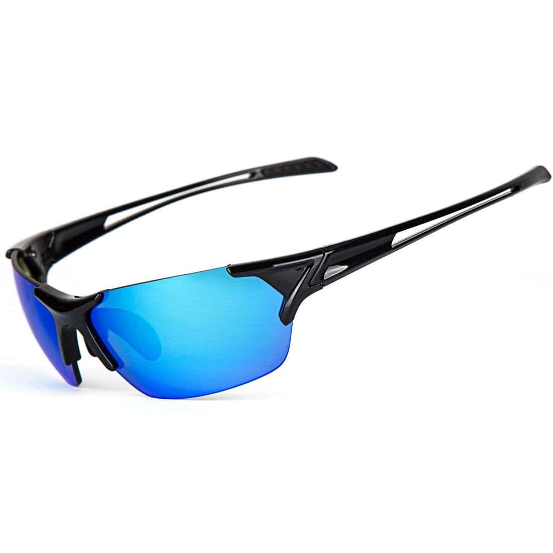 423d49db59f Shieldo Polarized Sports Sunglasses for Men and Women  8.99 ...