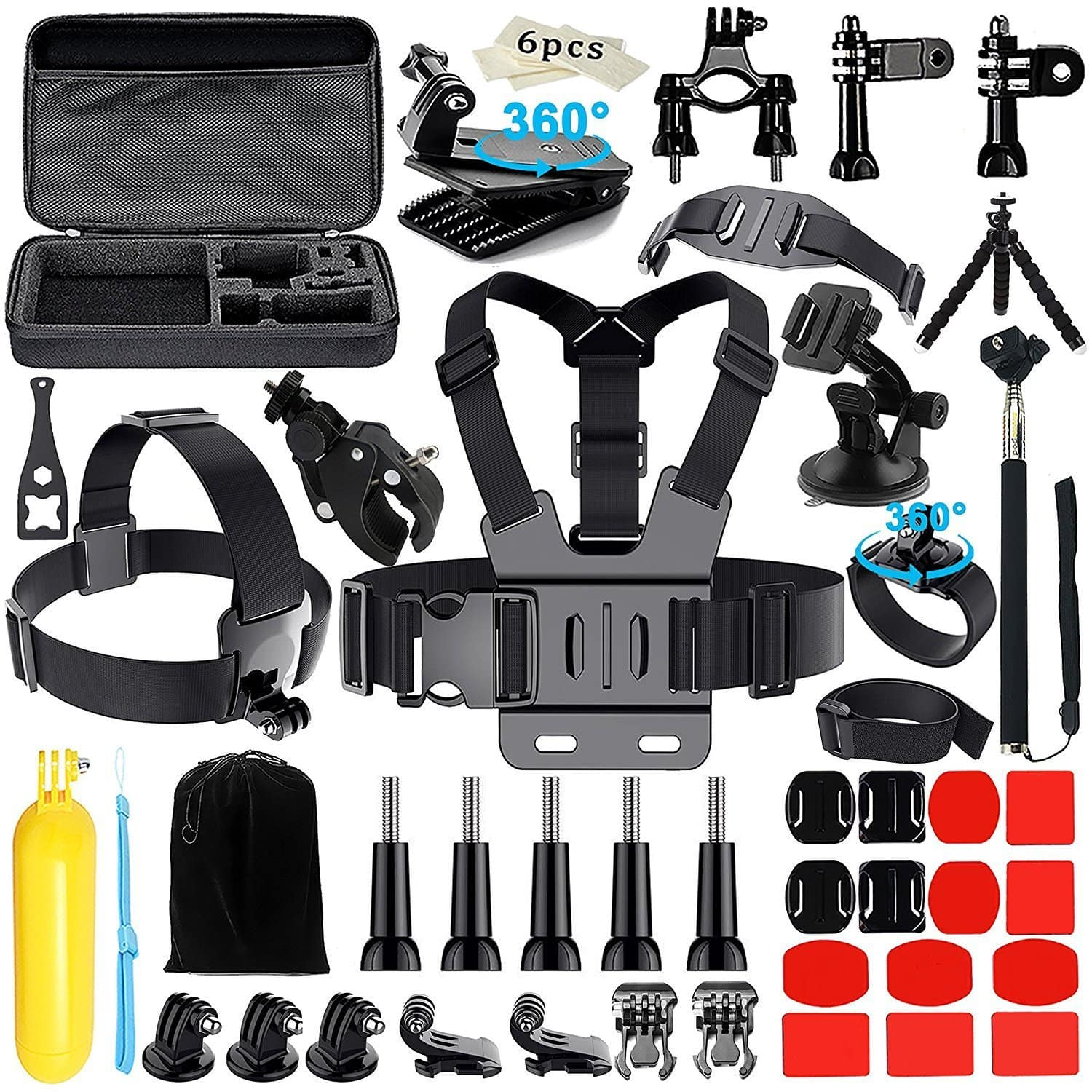 Action Camera Accessories for GoPro Hero 2018 Session/6 5 On Sale for $12.99