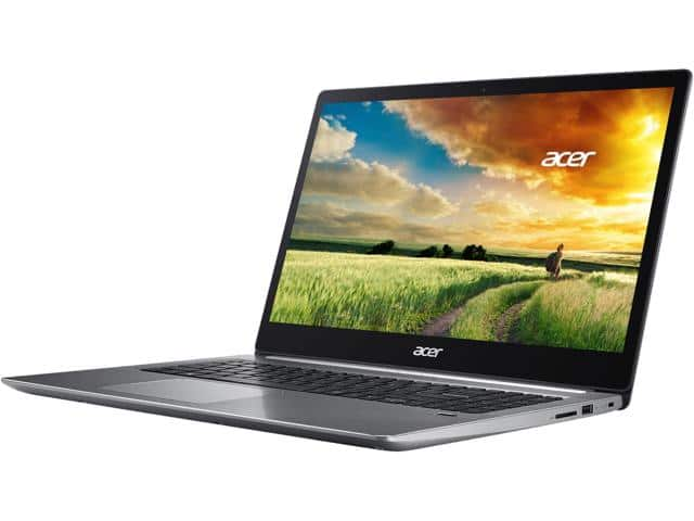 "Acer Swift 3 SF315-51G-51CE 15.6"" i5-8250U NVIDIA MX150 8GB 256 GB SSD $679"