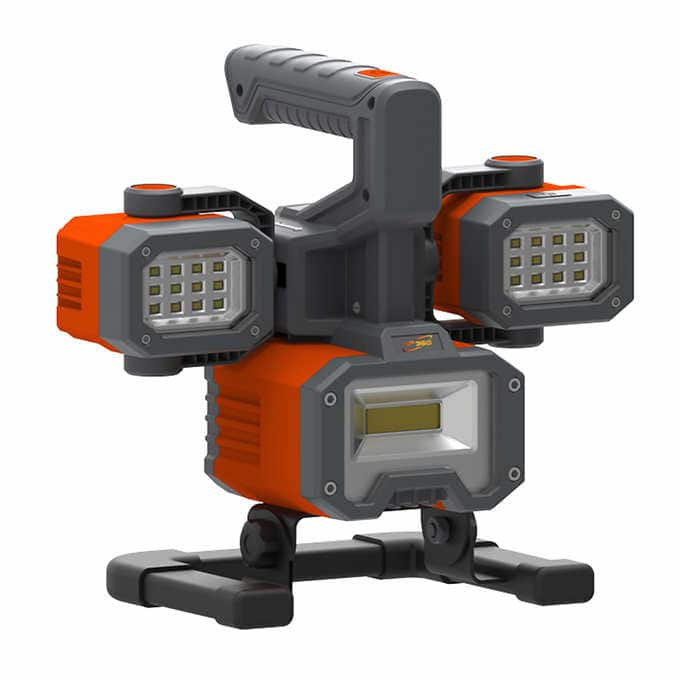 Costco ePOWER360 Rechargeable LED Worklight & Spotlight Warehouse Price $30 Online $40