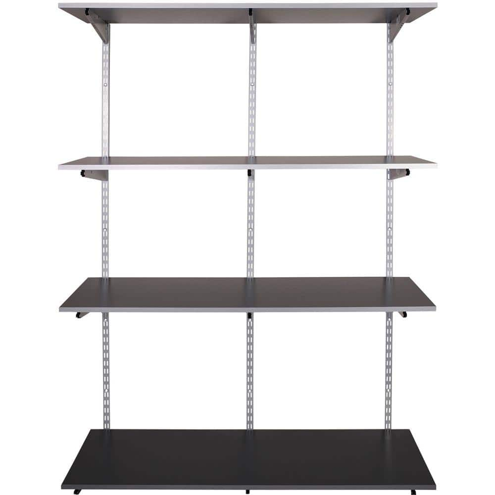 FastTrack Garage 4-Shelf 48 in. x 16 in. Laminate Shelving Kit with Rail $147.44 @ Home Depot Online Only