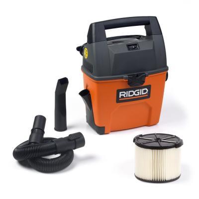 Ridgid 3 Gal 3 5 Peak Hp Portable Pro Wet Dry Vacuum 33