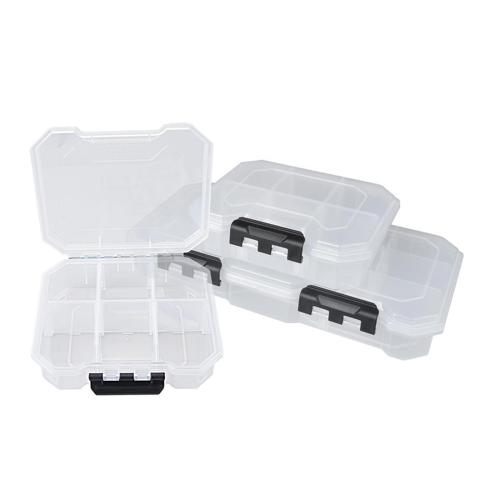 Husky Small Parts Organizer Storage Bin Set 3-Piece $2.52 Home Depot Clearance B&M YMMV