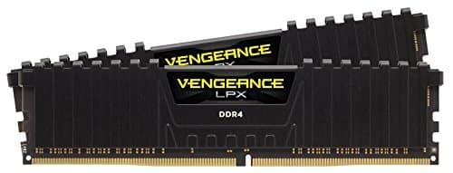Corsair Vengeance LPX 16GB (2x8GB) DDR4 DRAM 2666MHz (PC4 21300) C16 Desktop Memory Kit - Black (CMK16GX4M2A2666C16) $129.99