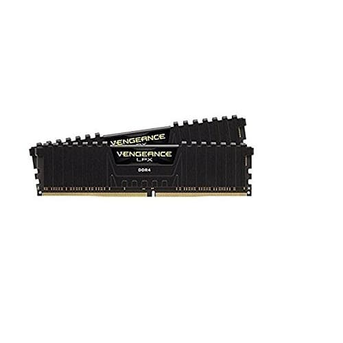Corsair Vengeance LPX 16GB (2x8GB) DDR4 DRAM 2666MHz (PC4 21300) C16 Desktop Memory Kit - Black (CMK16GX4M2A2666C16) $134.99