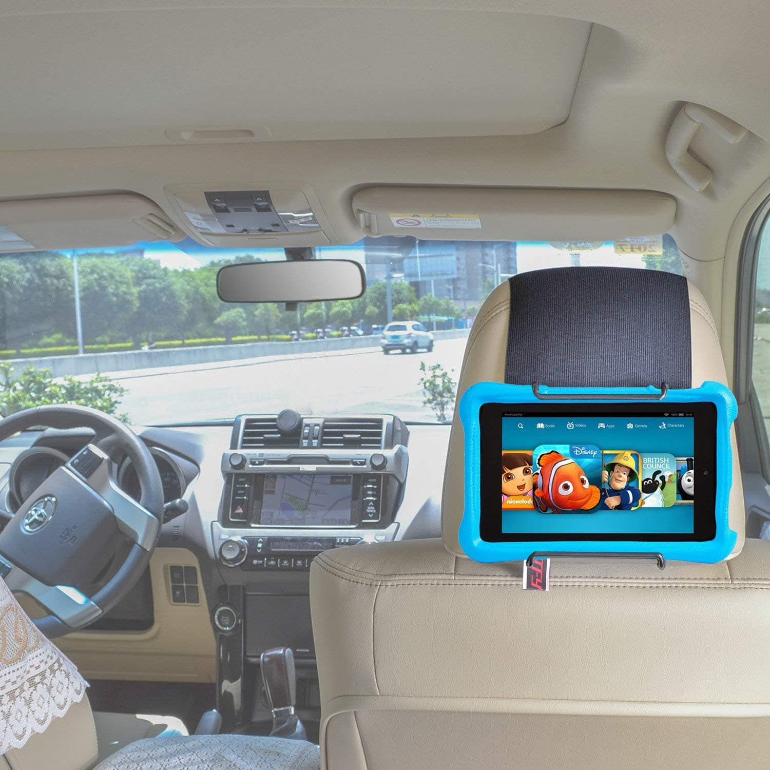 Car Headrest Mount for all Kindle Fire Models $9.90