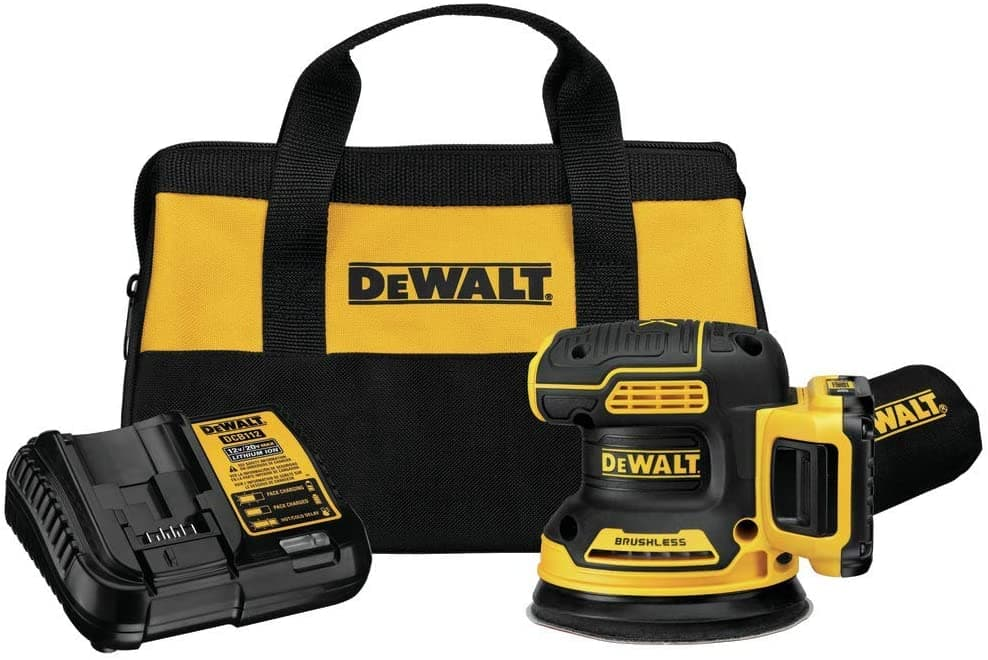 DEWALT 20-Volt Brushless Cordless Random Orbital Sander with Bag (Battery Included) + Free Shipping - $99