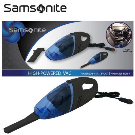 Samsonite 12 Volt High-Powered Bagless Portable Vacuum for Automobiles $8.98