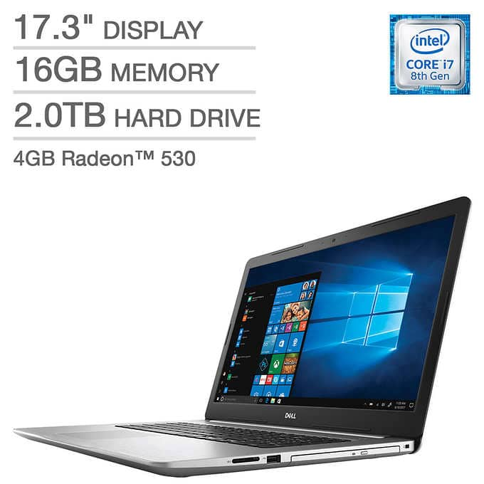 Codtco Com: $799 Costco Members: Dell Inspiron 17 5000 Series Laptop