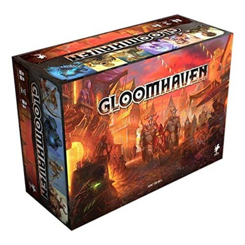 Gloomhaven Board Game in Stock on Amazon $133.25