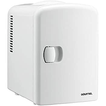 Gourmia GMF600 Thermoelectric Mini Fridge Cooler and Warmer - 4 Liter/6 Can For $32.99 @ Amazon