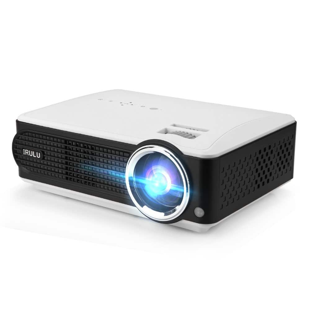 iRULU P4 Projector HD LED Projector Support 1080P $69.99 @Amazon +FS