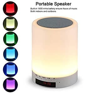 Tranesca Night light bluetooth speaker $13.96