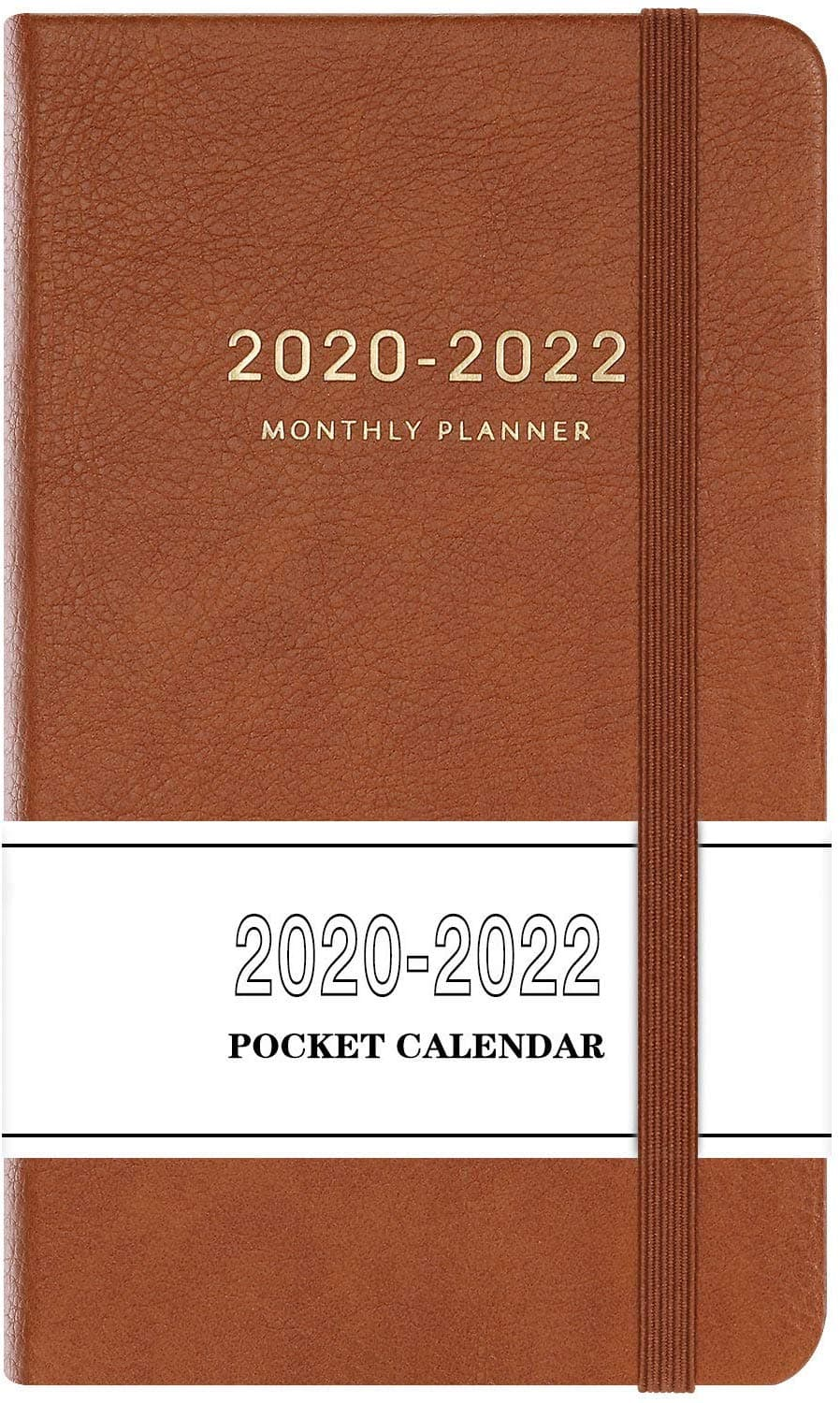 """2020-2022 Monthly Pocket Planner (36-Month) with 63 Notes Pages, 3.8"""" x 6.3"""" $4.59"""