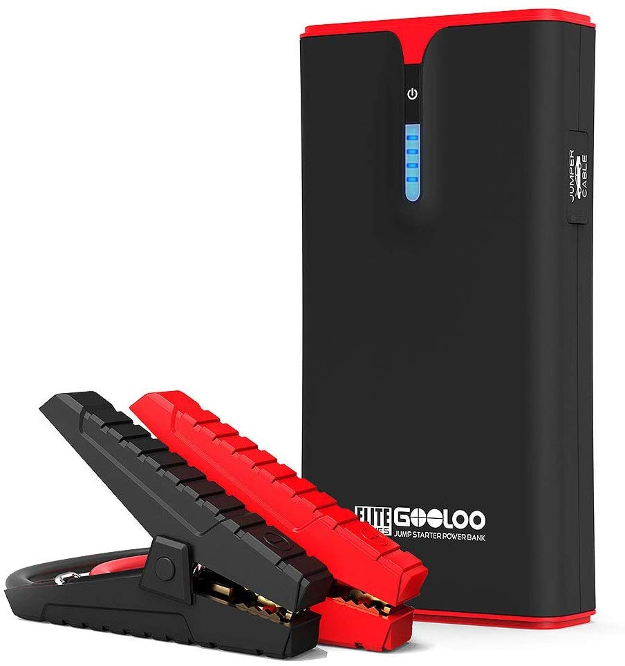 GOOLOO 1500A Peak SuperSafe Car Jump Starter (Up to 8.0L Gas or 6.0L Diesel Engine) $49.59 @Amazon +FS