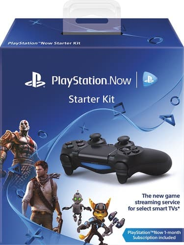 Best Buy - $39.99 - PS Now Starter Kit (DualShock 4, USB Cable, 30 day PS Now)