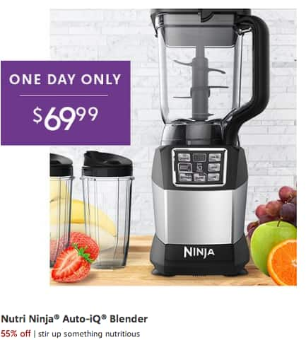 Nutri Ninja® BL490T Blender DUO™ with Auto-iQ - ***$69.99*** One Day Only