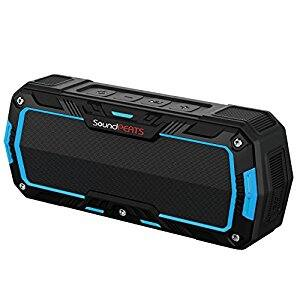 Bluetooth Speakers With Mic, IP65 Water Resistant, Dual 5W Drivers, 10 Hours Play Time $14.7 @Amazon