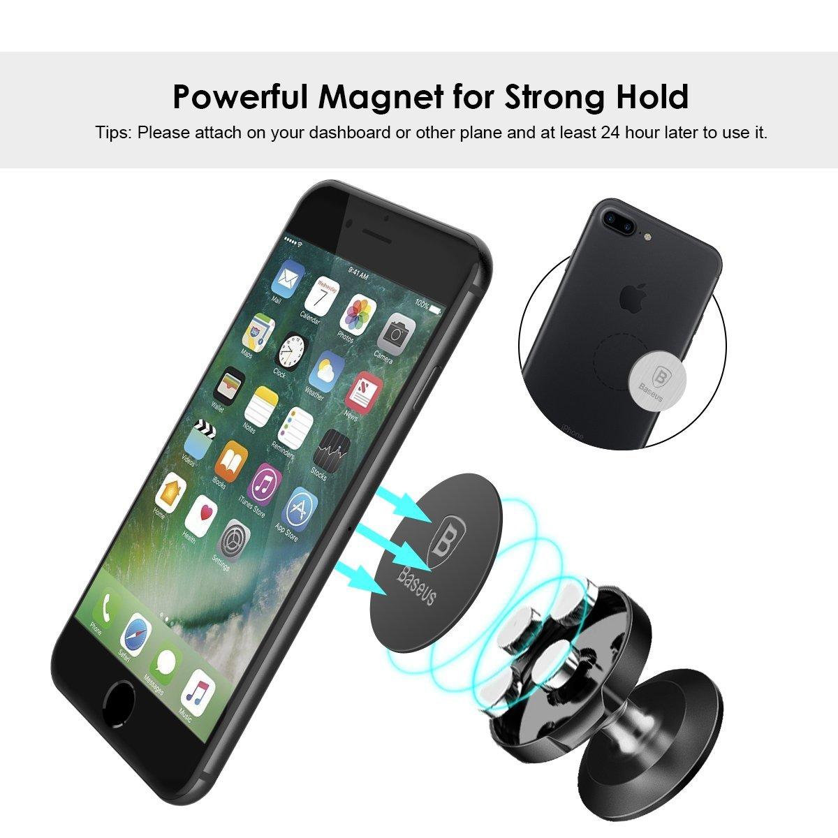 Baseus Universal Magnetic Car Mount Phone Holder $7.49