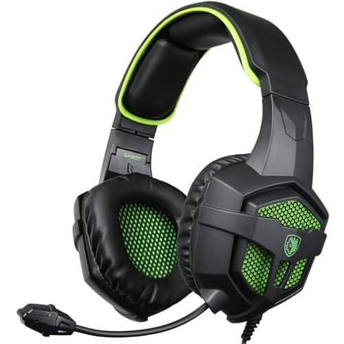 SADES Gaming Headsets PC Headphones with Mic for PS4, PC, Xbox one - Green $16.09