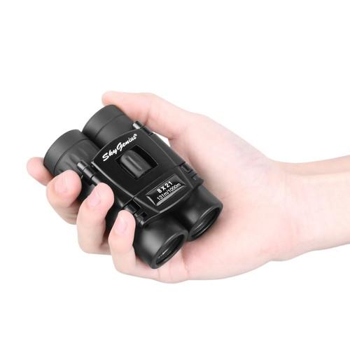 SkyGenius 8x21 Small Compact Lightweight Binoculars $16.09