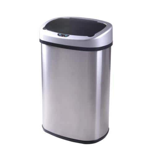 13-Gallon Touch Free Sensor Automatic Touchless Trash Can - $28 w/coupon @ ebay