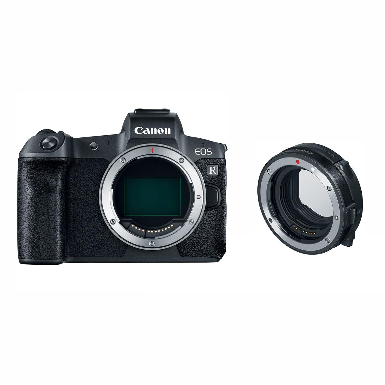Canon R Mirrorless Digital Camera + Mount Adapter + 64GB SD Card + 1TB USB3.1 External HD + More $1399 + free s/h $1399.99