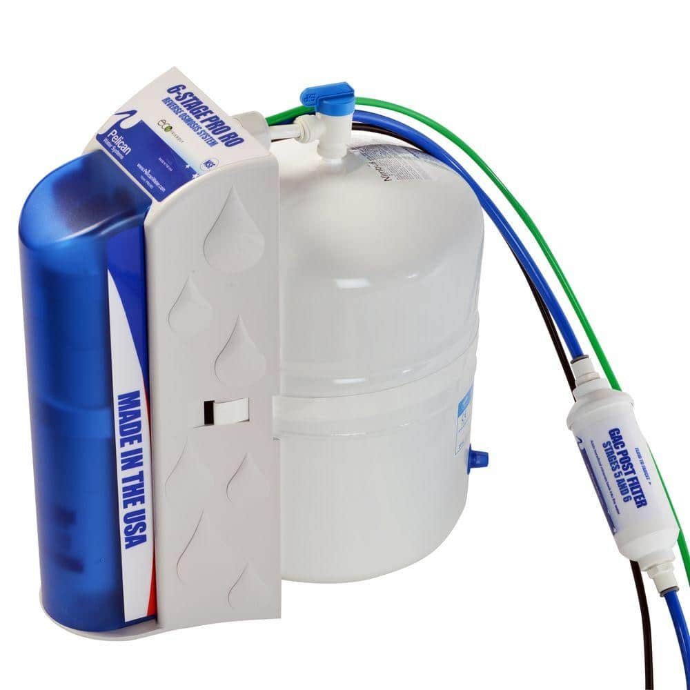 Pelican Pro 6-Stage Under Countertop Reverse Osmosis Filter...$200 shipped