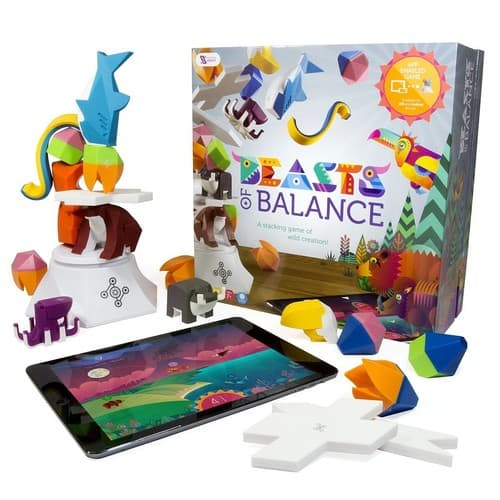 Beasts of Balance - A Digital Tabletop Hybrid Family Stacking Game $69.99 (Regularly $100) *Today Only*