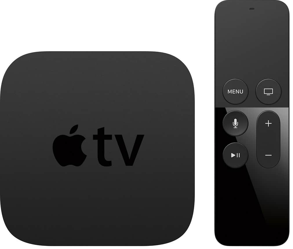 Apple - Geek Squad Certified Refurbished Apple TV - 64GB - Black - Latest 4th Gen - 1080p - $109.99 + tax - Free shipping