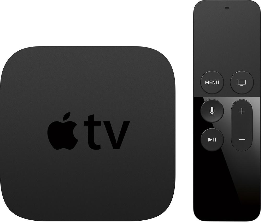 Apple - Geek Squad Certified Refurbished Apple TV - 64GB - Black - Latest 4th Gen - 1080p - $109.99 + tax - Free shipping