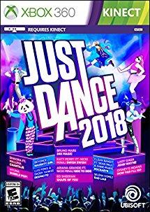 Just Dance 2018 $19.99 Xbox 360, $24.99 PS3 -  Amazon