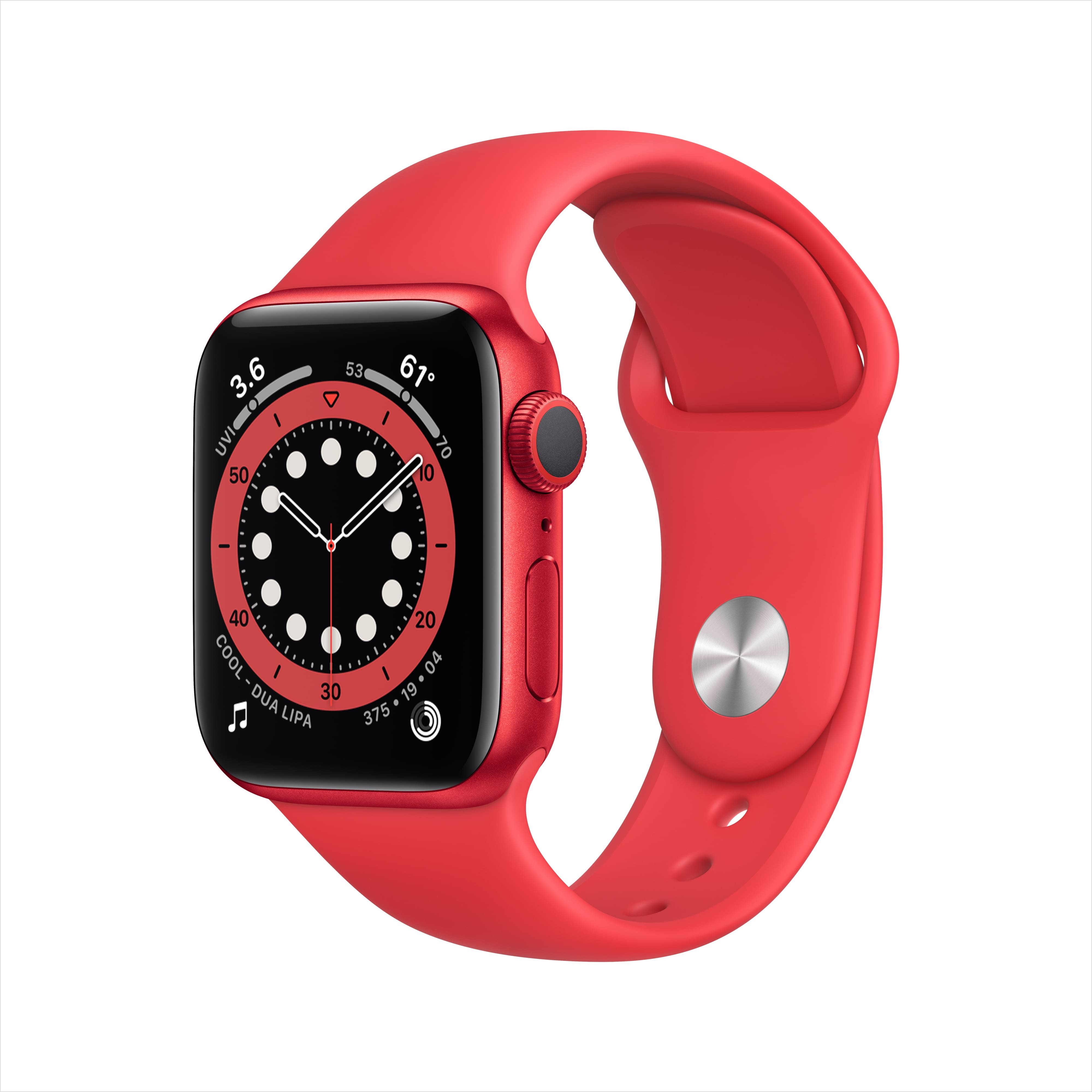 Apple Watch Series 6 40mm GPS Smartwatch (Product Red) - Walmart and Amazon - $339 + Free Shipping