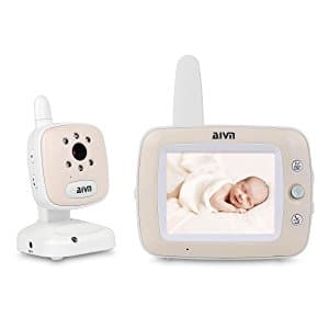 AIVN Video Baby Monitor with 3.5'' LCD Display Digital Camera $69.93 @Amazon
