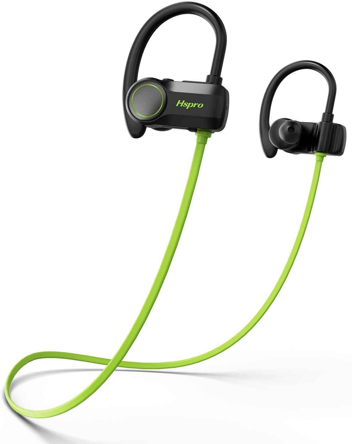 Bluetooth Headphones IPX7 CVC6.0 Noise Cancelling Mic for Gym Workout, 10 Hours Playtime $10.44