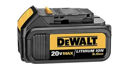 DeWalt 20V 3Ah lithium ion battery - 2 pack - $130 with  at least $65 in SYW point back.
