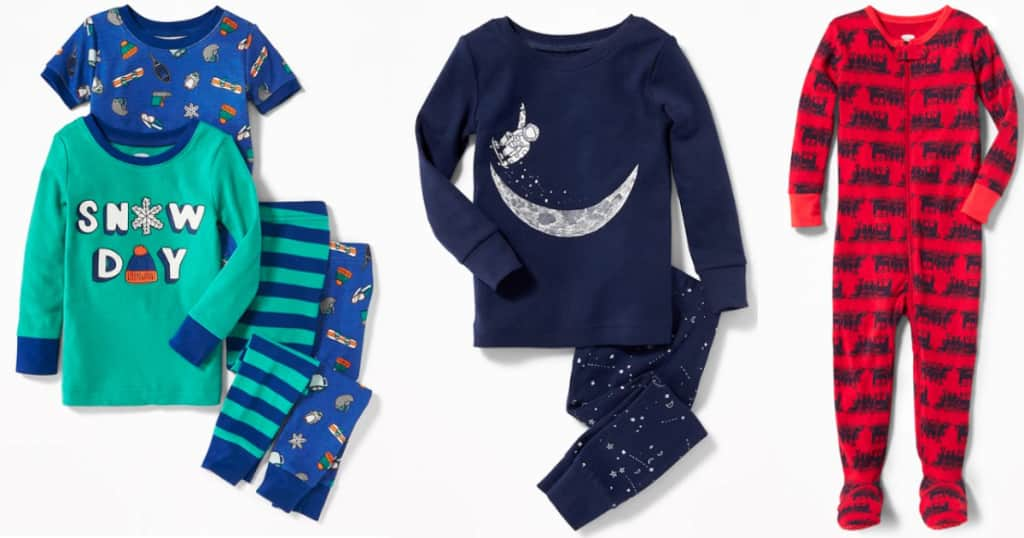 FIVE Old Navy Infant Pajamas Only $17.95 Shipped (Regularly $80) & More
