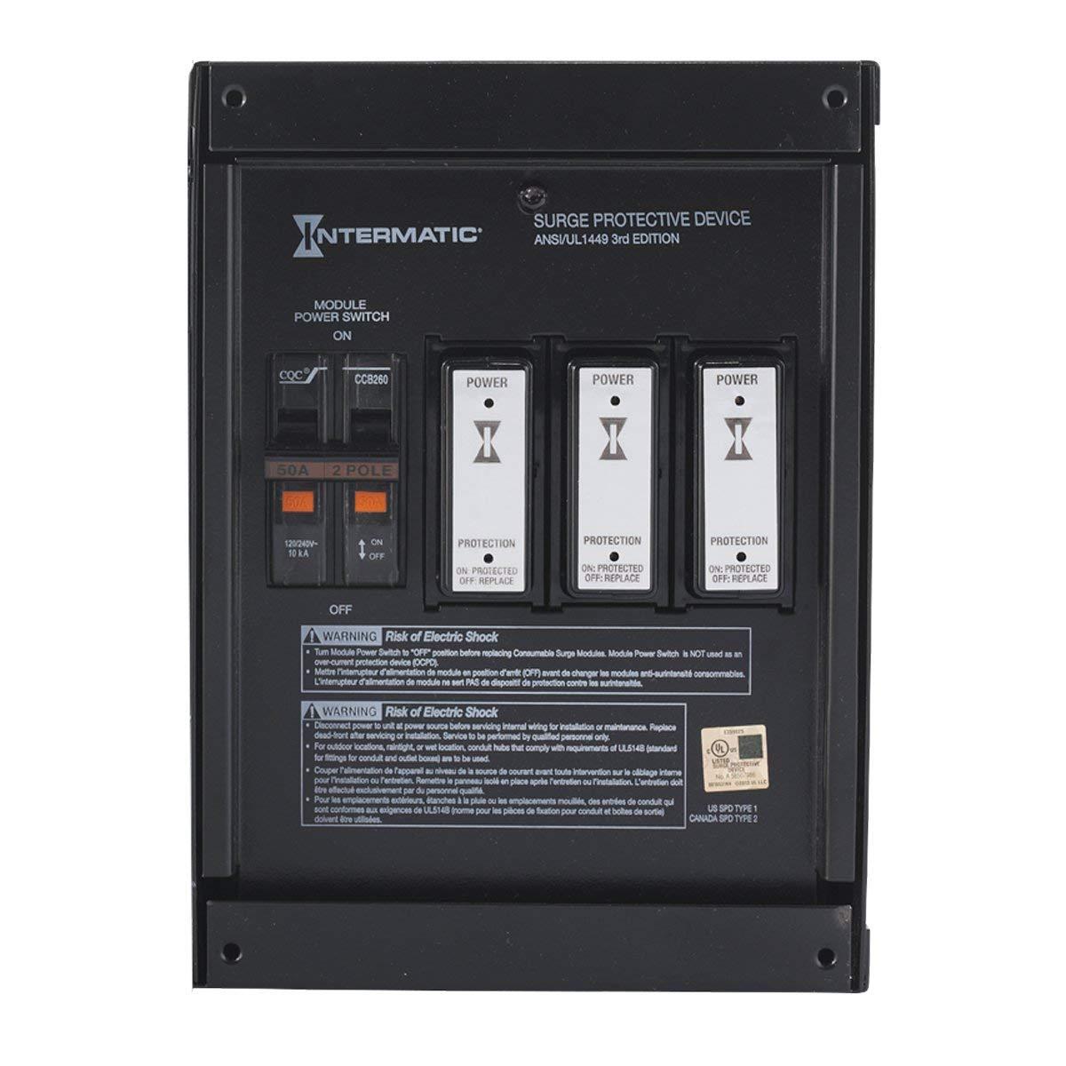 Intermatic Smart Guard IG2240-IMSK Whole Home Surge Protector $212.49