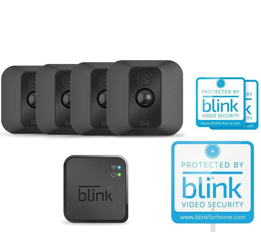 New Qvc Members Blink Xt Home Security System 4 Camera