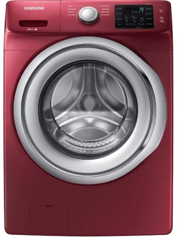 Samsung 4 5 Cu Ft High Efficiency Stackable Front Load Washer Lowes 10