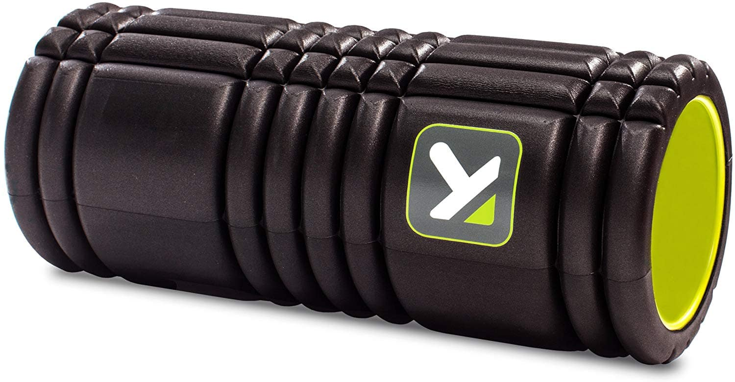 TriggerPoint GRID Foam Roller with Free Online Instructional Videos, Original (13-Inch) - $25 - Amazon